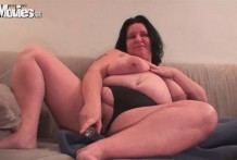 big beautiful woman wifey toying