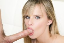 Sexy Jillian Janson is giving a lovely dirty fellatio
