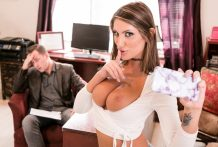 Splendid August cheats on her hubby with her plastic surgeon.