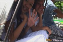 2 wonderful Filipina nurses give exclusive care to fortunate masculine tourist